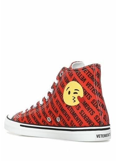 Vetements Sneakers Kırmızı